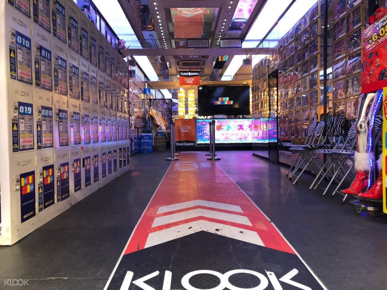 tokyo robot restaurant klook priority lane